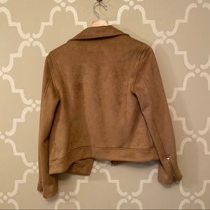 Old Navy Jackets & Coats - Old Navy Suede Tan Jacket